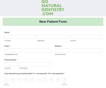 Patient Information Fort Lauderdale - New Patient Form