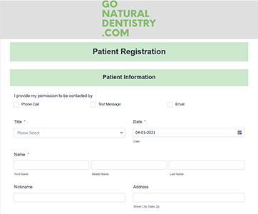 Patient Information Fort Lauderdale - Patient registration Form